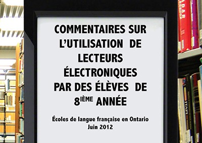 Electronic readers